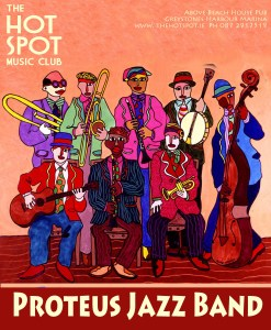 Cafe Session - Proteus Jazz Band @ The Hot Spot