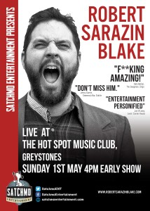 Robert Sarazin Blake - Singer/Storyteller (USA) @ The Hot Spot