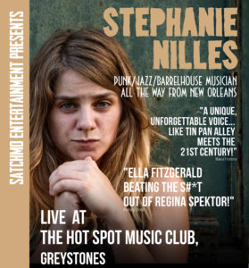 Stephanie Niles - Jazz Punk (USA) with Thomas Deakin on horns (sax and trumpet) @ The Hot Spot