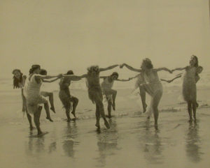 1916 7 Vanity Fair Dancers by the Sea
