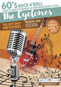 The Cyclones - 60s Rock n' Roll Charity Night @ The Hot Spot