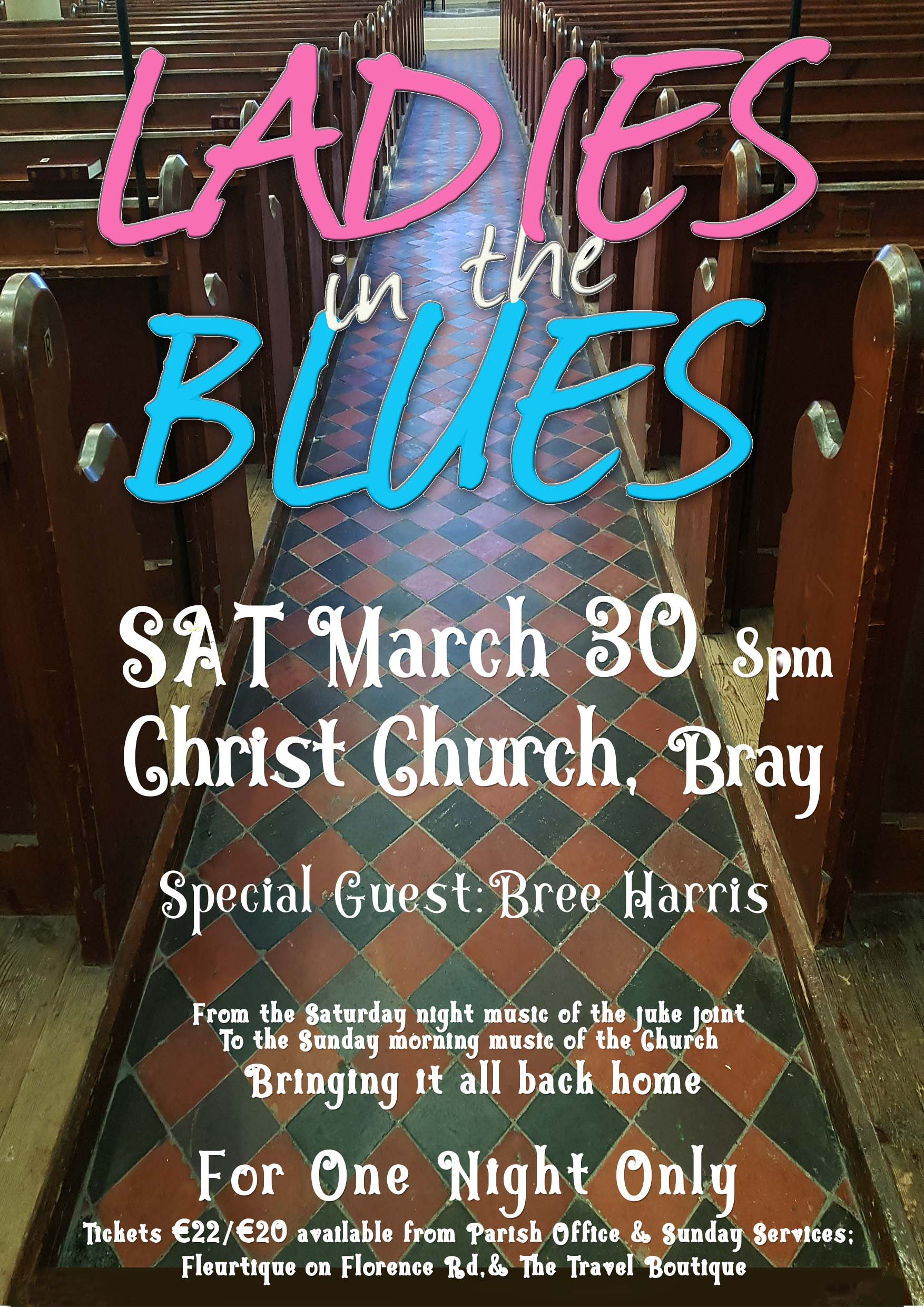 Ladies in the Blues - Christ Church Bray